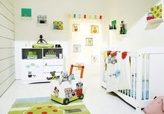 nursery for baby boys with cool design