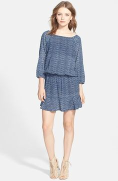 Soft Joie 'Arryn' Blouson Dress available at #Nordstrom