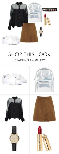 """""""Sem título #613"""" by percabeth-chrisse-thalico on Polyvore featuring moda, Puma, Accessorize, Gucci, Burberry e Marc Jacobs"""