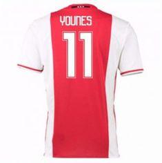 16-17 Ajax Home #11 Younes Cheap Replica Jersey [G00724]