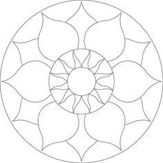 Chakra mosaic pattern by Brett Campbell Mosaics535 x 535 | 30.7KB | www.mosaics.com.au