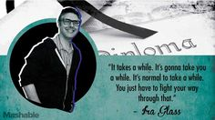 Brilliant quote from Ira Glass. Ira Glass, Belief Quotes, Realist Quotes, Graduation Quotes, American Life, Take That, Inspirational Quotes, Thoughts, Learning
