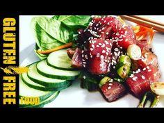 How to make Hawai poke tuna saled - gluten free recipe Tuna, Gluten Free Recipes, Free Food, Make It Yourself, Hawaii, Gluten Free Menu, Atlantic Bluefin Tuna