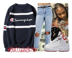 """""""Untitled #662"""" by guccidaughter ❤ liked on Polyvore featuring WithChic, Bulova and NIKE"""