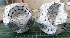 Paper ball - zentangle