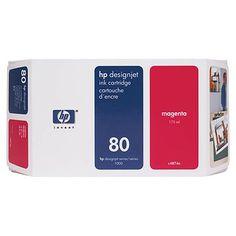 HP DESIGNJET 1000/1050C MAGENTA Nº80