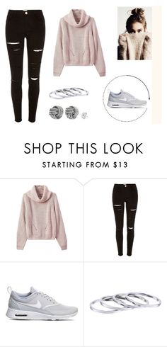 """""""#92"""" by myheartisfeelings ❤ liked on Polyvore featuring River Island and NIKE"""