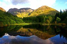 Loch Torren in Glencoe, Scotland, the location used for Hagrid's cottage in 'Harry Potter and the Prisoner of Azkaban'. [photo: David McDermott - Macaz21- via Flicker]
