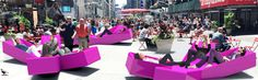 Lounge in Times Square on Jürgen Mayer H.'s XXX - http://art-nerd.com/newyork/lounge-in-times-square-on-jurgen-mayer-h-s-xxx/