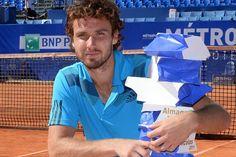 Ernests Gulbis after winning Open de Nice Cote d'Azur title. (ATP)