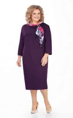 Dress Pretty арт. 948 Old Women, Fashion Dresses, Cold Shoulder Dress, Plus Size, Pretty, Outfits, Vestidos, Fashion Styles, Nice Clothes