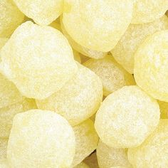 ** Lemon Drops. Image, photo, yellow candy. Great decorating idea to frame the image for summer!