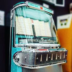 Today is #nationaljukeboxday. What better reason to share this picture of our stunning 1958 AMI I 200 Vinyl Jukebox.