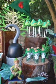 Peter Pan birthday party! See more party ideas at CatchMyParty.com!