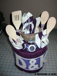 Another fun wedding shower or bridal shower gift.  #bridal #wedding #gift