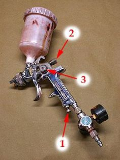 How To Adjust An HVLP Spray Gun And Tips On Cleaning A Spray Gun