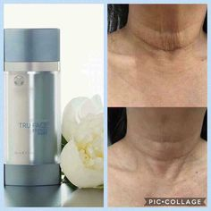 Smoother neck and chest in days Nu Skin, Make Up Remover, Beauty Guide, Tips Belleza, Voss Bottle, Bottles, Anti Aging Skin Care, Cleanser, Serum