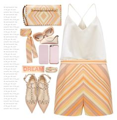 """candy fashion valentino look"" by licethfashion ❤ liked on Polyvore featuring Valentino, Kate Spade and Ted Baker"
