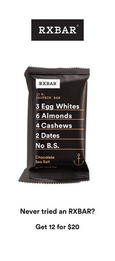 Real foods with simple ingredients and No B. RXBAR makes whole food protein bars with simple all-natural ingredients. Easy to grab and delicious protein bars perfect on the go. Whole 30 Recipes, Whole Food Recipes, Diet Recipes, Healthy Recipes, Get Healthy, Healthy Snacks, Healthy Eating, Healthy Weight, Keto