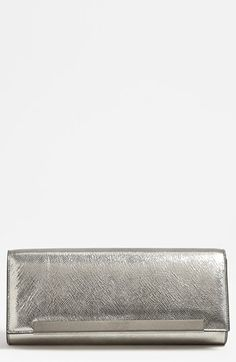 Saint Laurent 'Lutetia - Antic' Leather Clutch available at #Nordstrom