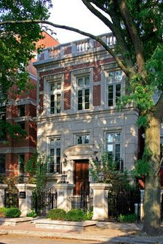 The row houses of New York and the Brownstones of Boston have always  been a love of mine.  City Facades traditional exterior