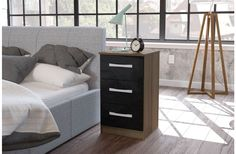 Bedside table.. 1 of 5 different colors and styles.. as part of our lynx bedroom set..