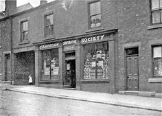 Brightside and Carbrook Co-operative Society Ltd. Wincobank Branch, Fife Street (formerly Fowler Street) Sheffield, Yorkshire, Old Photos, Past, England, Memories, History, Ancestry, Street