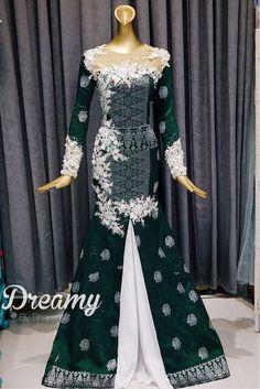 Songket bride - designed by shairah kahwin-kawin bridal