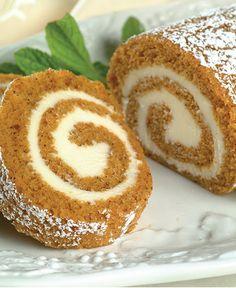 Libby's Pumpkin Roll http://wm13.walmart.com/Cook/Recipes/21477/