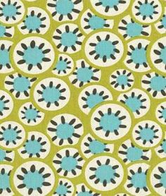 Amy Butler Kaleidoscope Dots Leaf Fabric