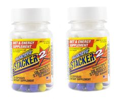 Stacker 2 Ephedra Free Fat Burner (2)20ct. Bottles 40 Capsules Total >>> Find out more details by clicking the image : Weight loss Supplements