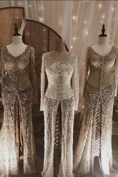 Muslim Wedding Dresses, Dream Wedding Dresses, Wedding Gowns, Kebaya Modern Hijab, Kebaya Muslim, Kebaya Dress, Kebaya Brokat, Kebaya Wedding, Model Kebaya
