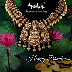 Wishing you a very Happy Dhanteras!  May Goddess Lakshmi bring happiness, prosperity & good fortune in your lives!