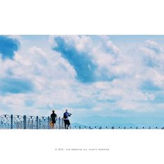 하늘을 낚다...    #nikon #d300 #Digitalcamera #lens #80_200mm #landscapesnap #korea_photo #photo #travel #여행 #여행스타그램 #강원도 #동해 #방파제 #sky #하늘 #낚시 #fishing #2008년 #사진추억과기억을공유하다 #김군_Photography