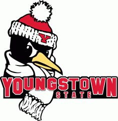 Youngstown State Penguins Secondary Logo on Chris Creamer's Sports Logos Page - SportsLogos. A virtual museum of sports logos, uniforms and historical items. Wwe Logo, Youngstown State, Word Mark Logo, Photography Logo Design, Ohio State University, Miami University, Great Logos, Cool Logo, Penguins