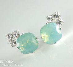 #jewelry #trends #2014 jewelry trends 2013 Aqua mint Swarovski