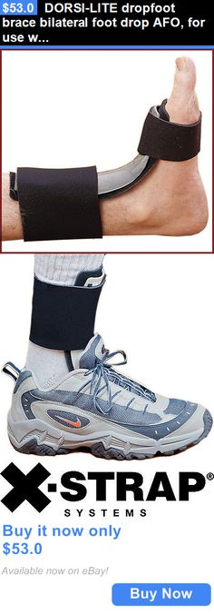 Other Health Care Supplies: Dorsi-Lite Dropfoot Brace Bilateral Foot Drop Afo, For Use With Or Without Shoes BUY IT NOW ONLY: $53.0 Adaptive Equipment, Medical Equipment, Foot Exercises, Compression Stockings, Foot Drop, Buy Shoes, Braces, Heeled Boots, Ankle