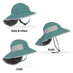 3b067513eff Kids Perfect Sun Hat in Seagrass. Sizes fit ages 6 months to 10 years.