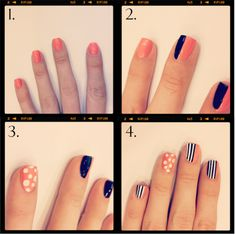 i love just the second step by itself but the whole manicure is cute as well :)