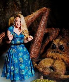 Evanna Lynch - msevylynch When the photographers yell 'Ham it up!!! Look afraid' but you actually find spiders fricking adorable.   Pinned by @lilyriverside