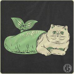 Purrrrrring through the high seas! #cats #mermaids #6dollarshirts
