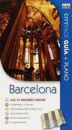 Barcelona Citypack las 25 mejores visitas. Guía turística. Incluye plano.