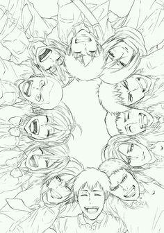 Shingeki no Kyojin Attack on Titan 進撃の巨人 Armin, Levi X Eren, Mikasa, Levi Ackerman, Manga Anime, Anime Art, Awesome Anime, Anime Love, Christa Renz