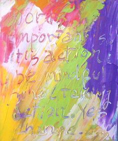 """""""Words,"""" acrylics on canvas, 10x12,"""" 2013 by Marisol"""