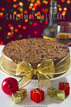 Christmas Fruit Cake - Świąteczne ciasto z suszonych owoców