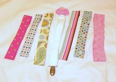 A Load Of Craft: Tutorial: How To Make A Fabric Binkie Leash/Clip