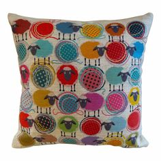hardtofind. | Counting sheep cushion cover