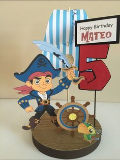 Captain Jake and the Neverland Pirates Birthday Party