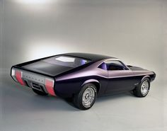 1970 Mustang Milano concept - from the gallery: Concept Cars of the Past