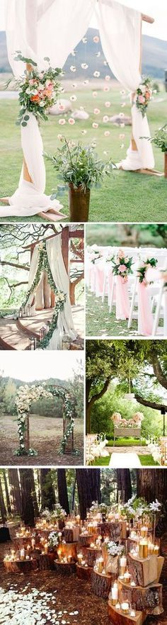 33 Ideas Vintage Wedding Arch Outdoor Ceremony For 2019 Altar Decorations, Wedding Decorations, Outdoor Ceremony, Wedding Ceremony, Wedding Decorating Tips, Vintage Wedding Arches, Perfect Wedding, Dream Wedding, Civil Wedding